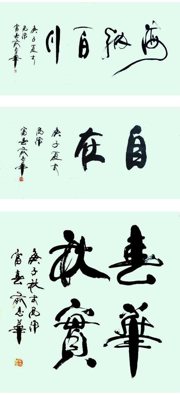 中国书画形象大使—俞志华作品欣赏