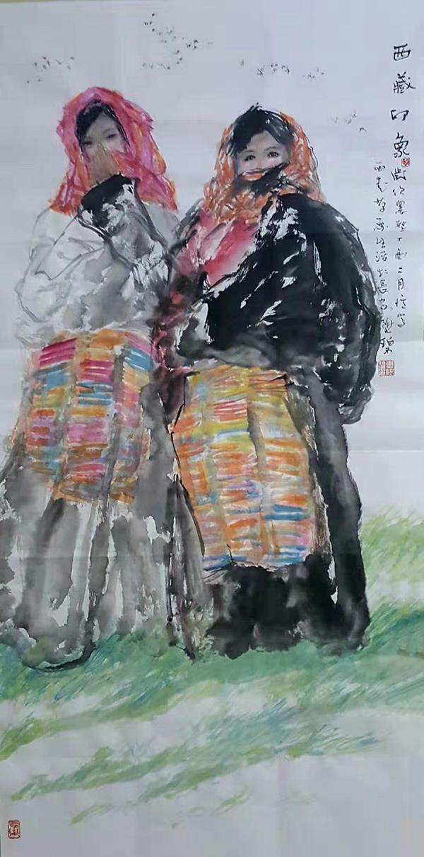 《艺术进万家》首届书画海报展 惠升碧作品欣赏