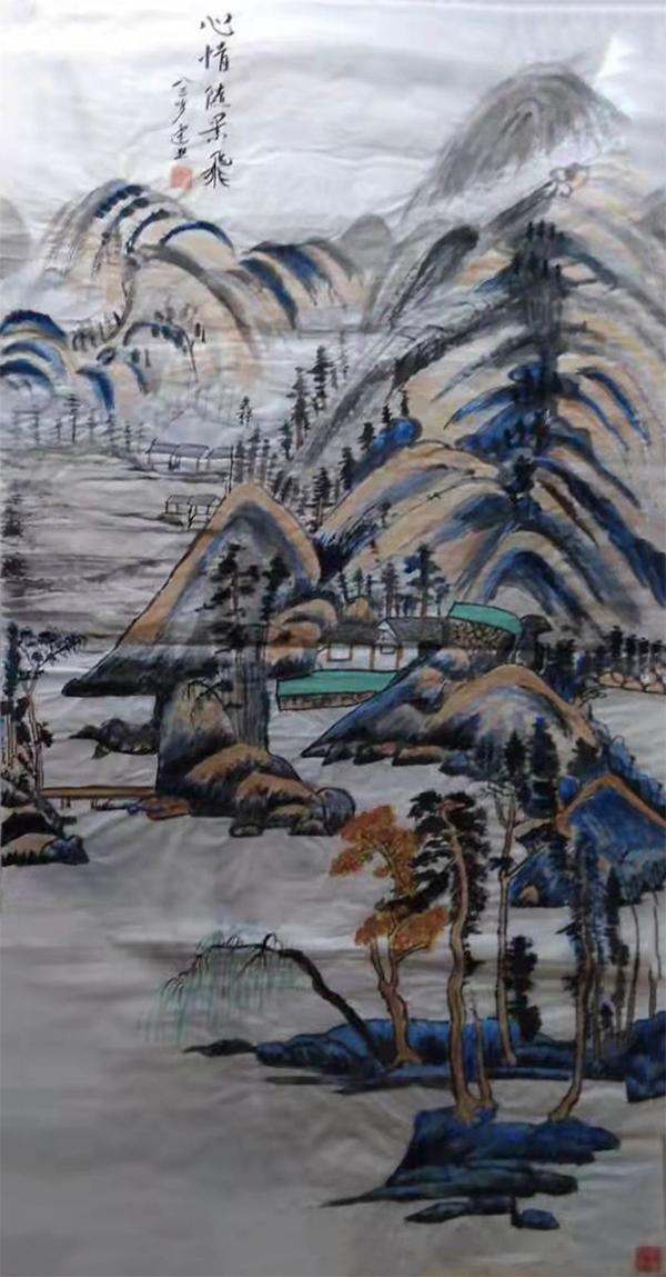 中国艺术百年巨匠·谢建业孙晓云作品欣赏