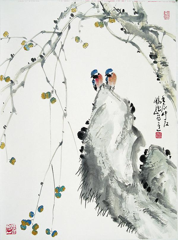 《艺术进万家》首届书画海报展 张锡龙作品欣赏