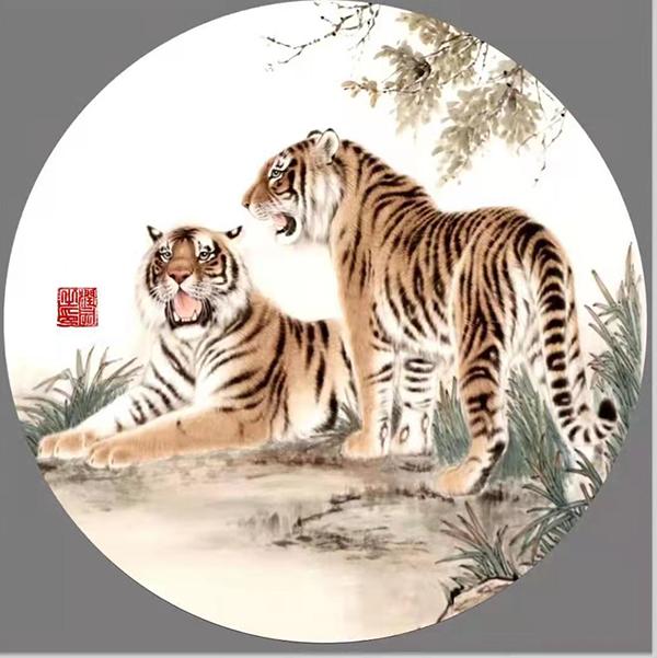 新時代杰出藝術家·陶潤文 靳尚誼 作品欣賞