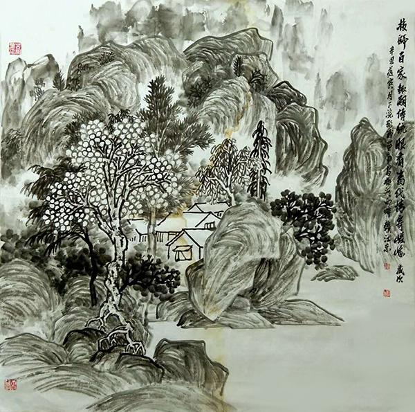 中国艺坛两大家·钟显威  孙晓云作品欣赏