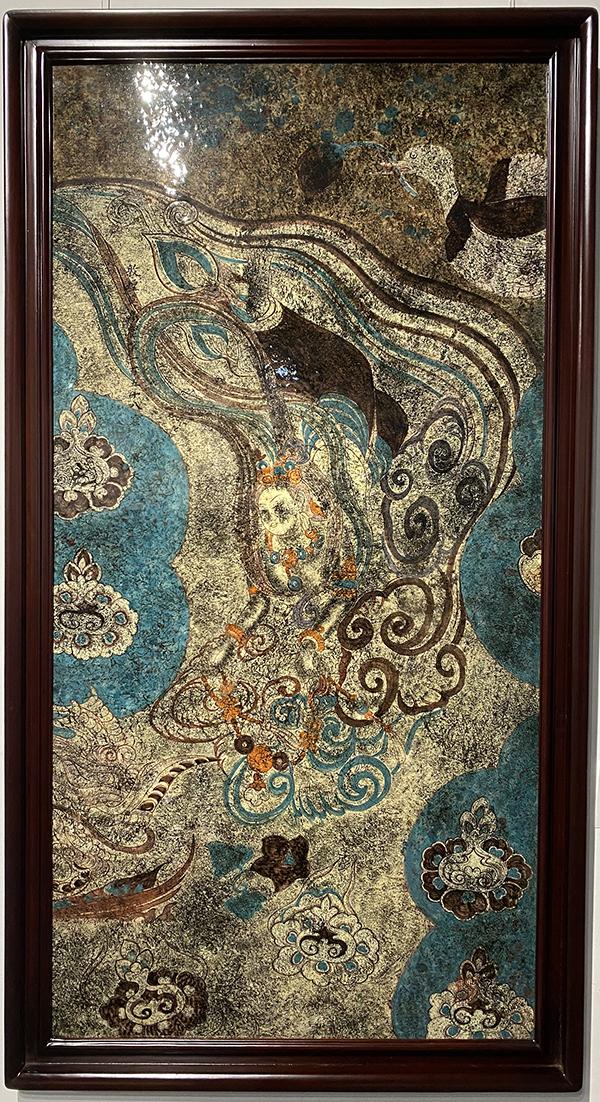 笔下乐陶润色文雅--陶润文敦煌莫高窟陶瓷作品展